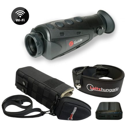Guide IR510 Nano 2 WiFi hőkamera okos szett (tok, nyakpánt, csavar, powerbank 10 Ah)