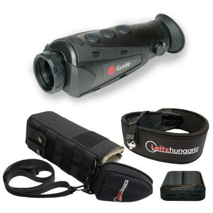 Guide IR510 Nano 2 hőkamera okos szett (tok, nyakpánt, csavar, powerbank 10 Ah)
