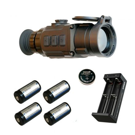 Infiray CL42 S thermal camera / clip-on with battery kit