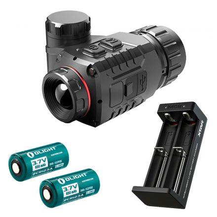 InfiRay CTP13 hőkamera előtét akkumulátor szettel
