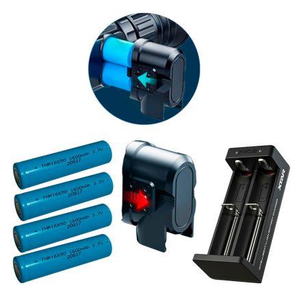 InfiRay IEB-2 external battery compartment (2x16650 + charger) Saim / CL42 / CH50
