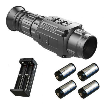 InfiRay Saim SCL25 thermal monocular with battery kit