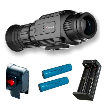 InfiRay Saim SCL35 hőkamera céltávcső akkumulátor szettel