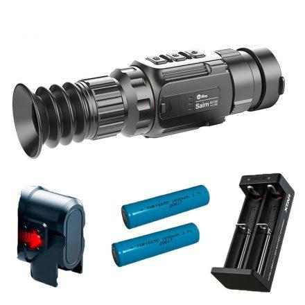 InfiRay Saim SCT35 V2.0 hőkamera céltávcső akku szettel