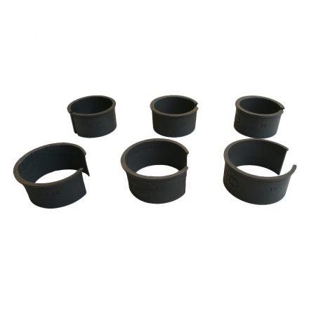 Pard 0,5-3 mm műanyag gyűrű szett adapterhez (6 db)