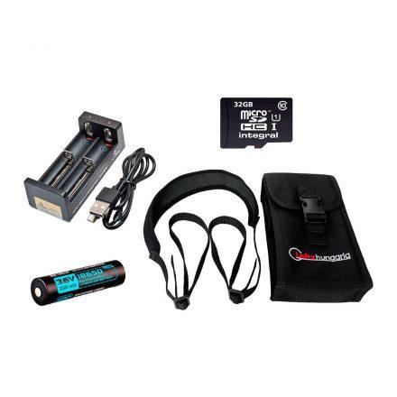 Pard smart kit (case+neckstrap+32GB mSD+3500mAh+two bay charger)