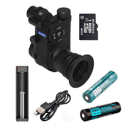 PARD NV007S 850 okos szett (2x18650 + MC2 + 32 GB microSD)