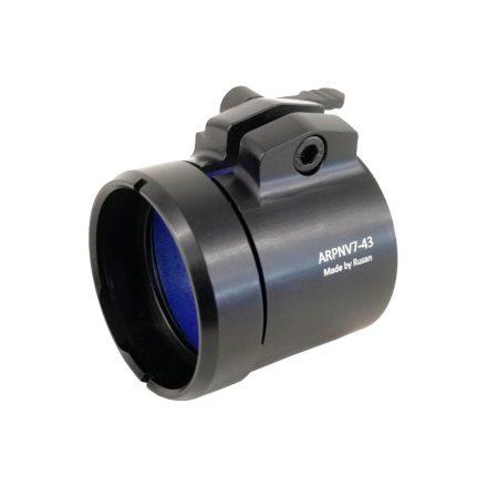 Rusan Q-R Pard NV007S 45,5 - 43 mm gyors kioldású adapter